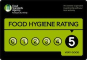 Grade 5 Food Hygiene Rating